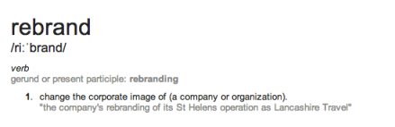 Rebranding: a simple definition
