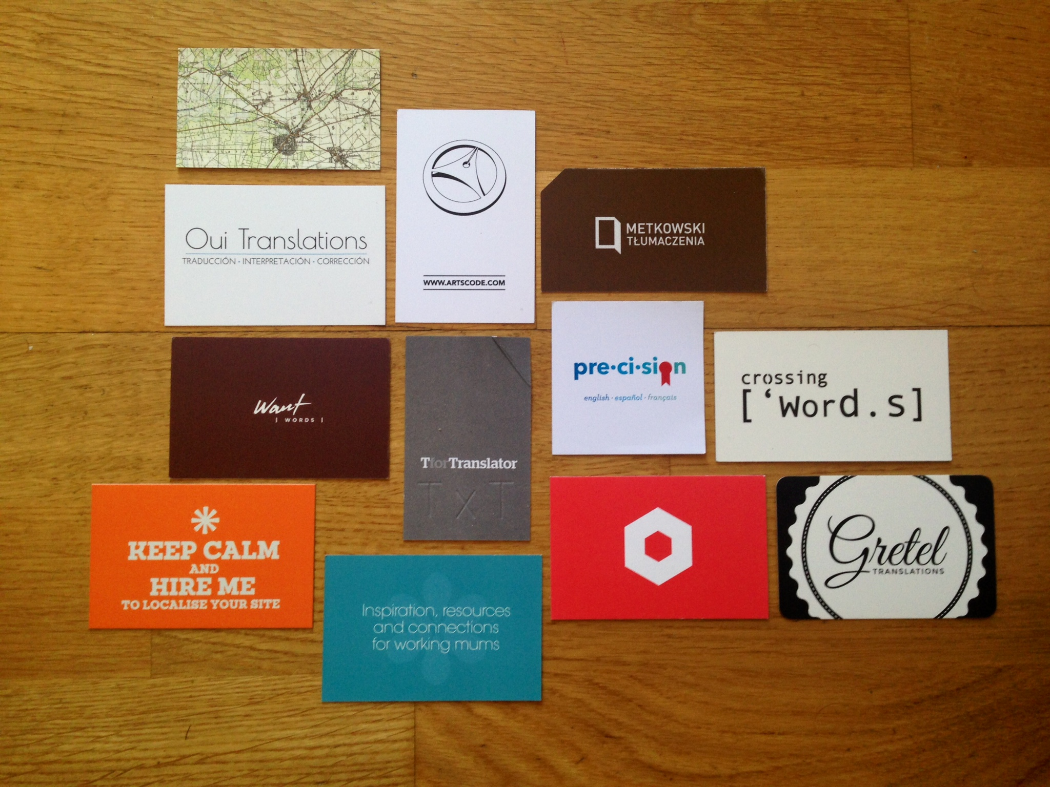 business cards… that mean business