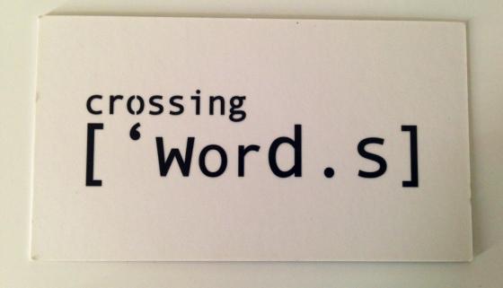 Crossing Words, Paula Ribeiro