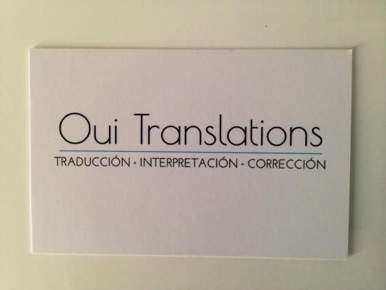 Oui Translations, Leticia Robles Soneira