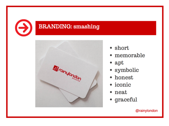 Branding should be smashing too