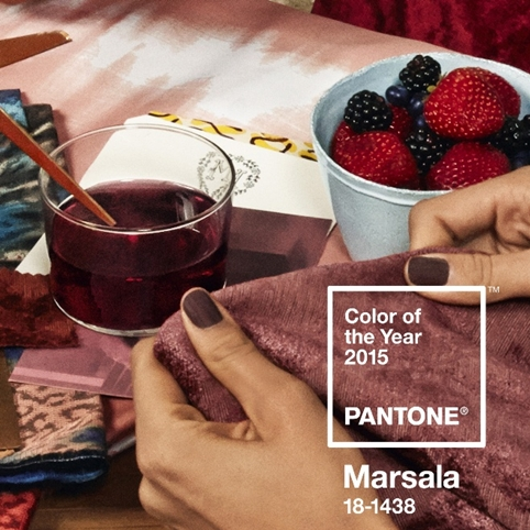 Marsala and all its emotions. Can't you smell it, almost?