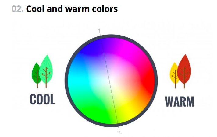 Complementary Colours Cool And Warm From Canva